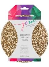 Aprons Jem Morrison Gold Sequin Silicone Trivet
