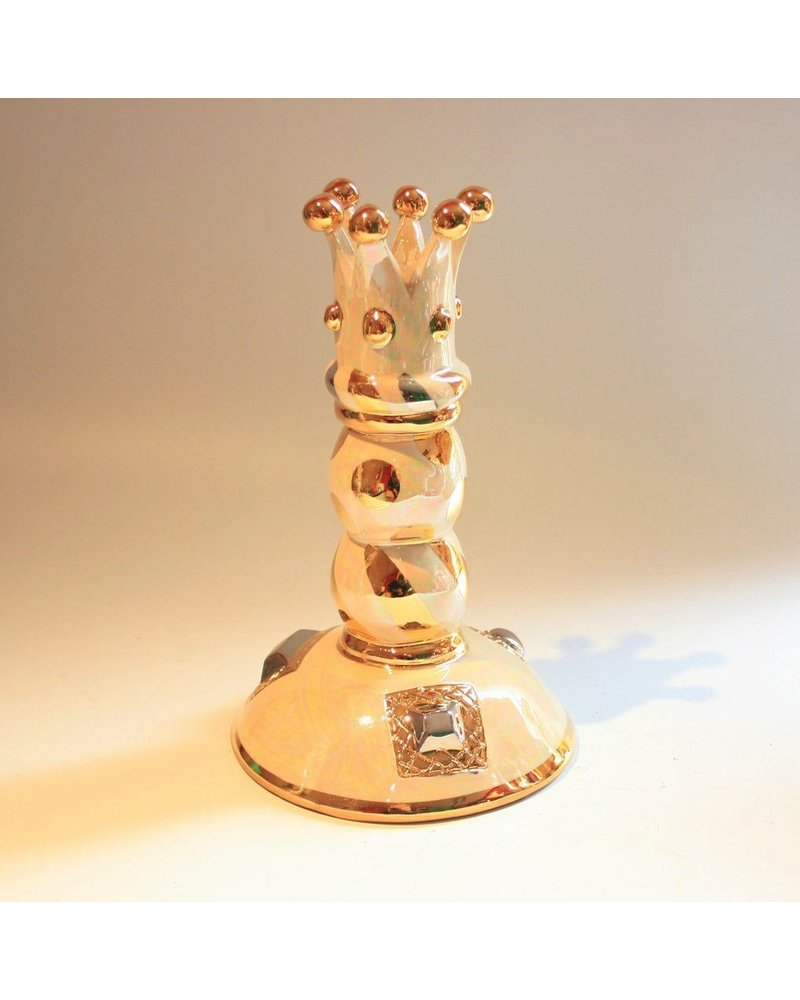 Mary Rose Young Candlestick of Beads Crown <br /> Top