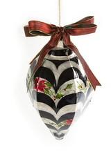 Mackenzie-Childs Jumbo Swirl Capiz Ornament