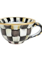 Mackenzie-Childs Courtly Check Teacup