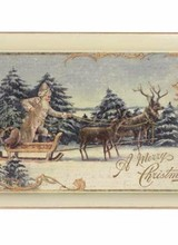 Bethany Lowe Designs A Peaceful Christmas Tray