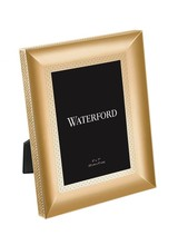 Waterford Lismore Diamond Gold Frame