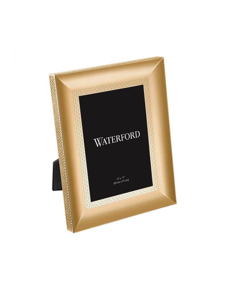 Waterford Lismore Diamond Gold Frame