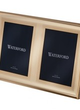 Waterford Lismore Gold Double Frame