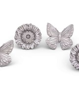 Arthur Court Designs Butterfly and Flower Napkin Rings