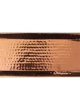 Rosy Rings Hammered Rose Gold Tray