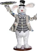 Mark Roberts Server Rabbit with Platter