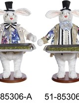 Mark Roberts Rabbit with Platter