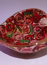 Mary Rose Young Heart Shaped Bowl