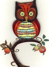 Quilling Card GE546