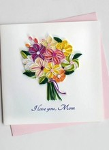 Quilling Card SO707