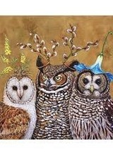 Paperproducts Owl Family Napkins