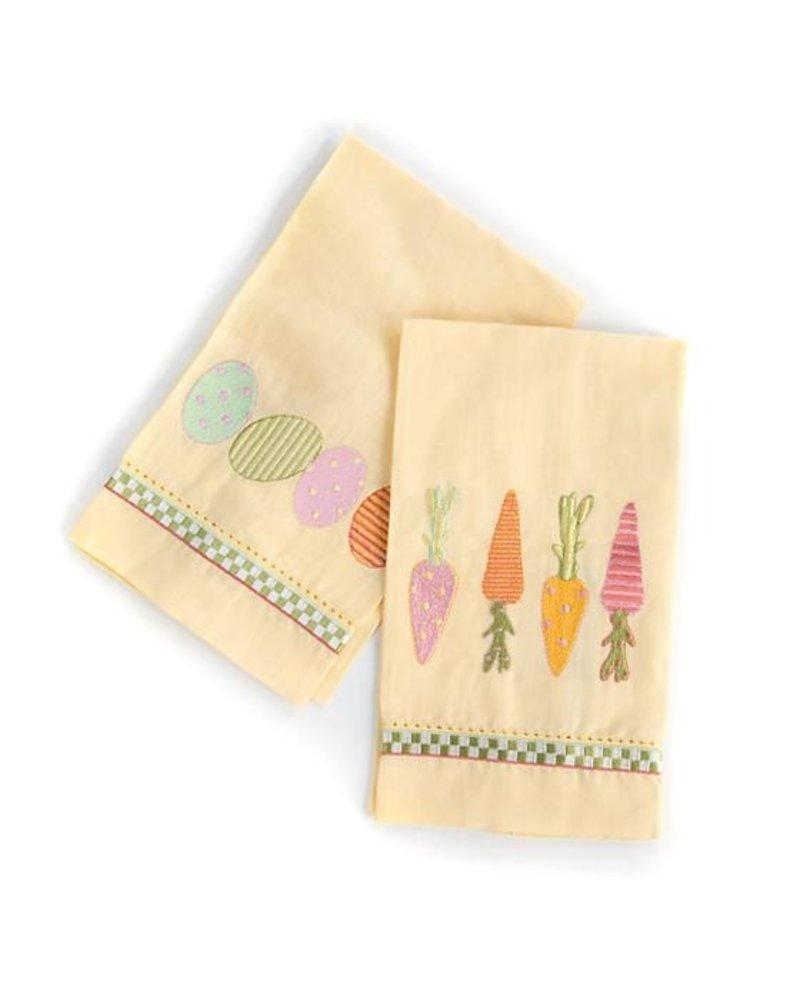 Mackenzie-Childs Springtime Guest Towels - Set of 2