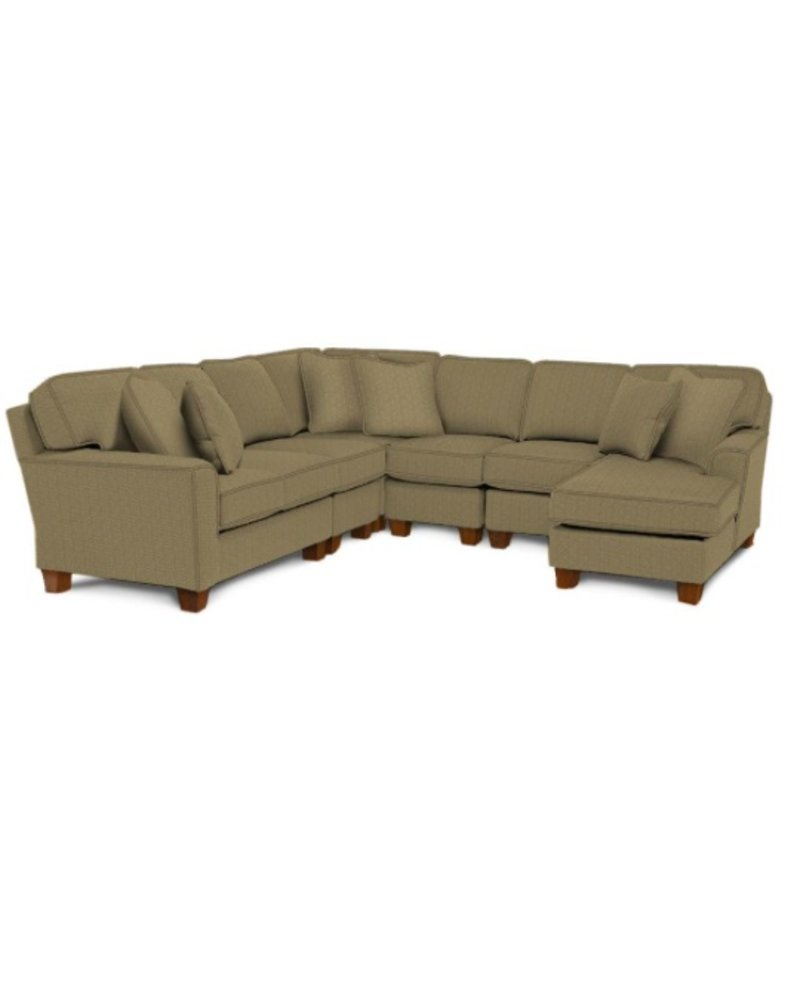 Best Home Furnishings Annabel Sectional w/ right side chaise
