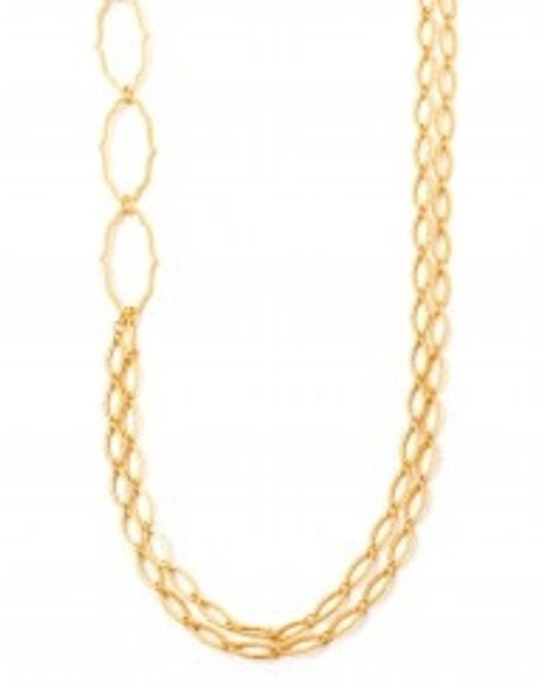 "Spartina 34"" length, 18k gold plated"