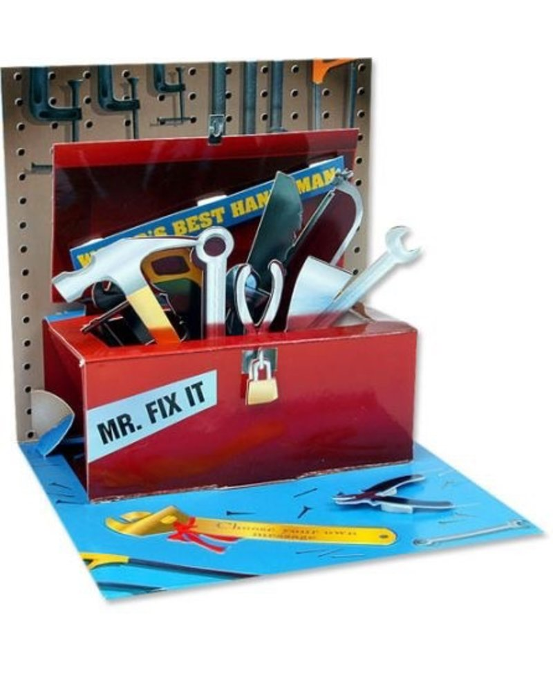 Up With Paper Tool Box