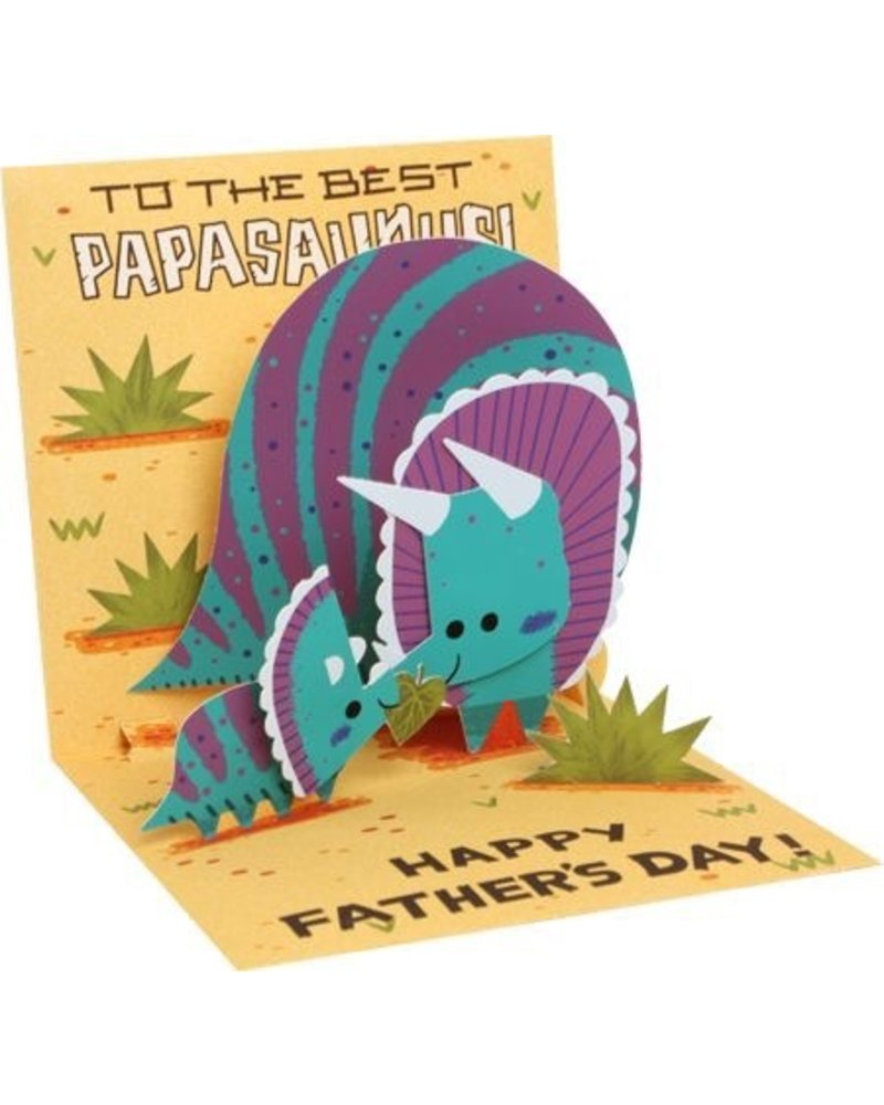 Up With Paper Papasaurus