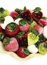 Hot Skwash Small Velvet Strawberry