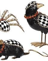 Mark Roberts Jeweled Crow/Spider/Rat