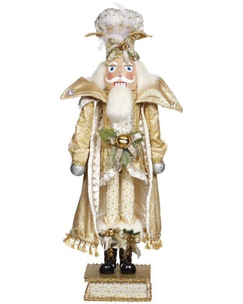 Mark Roberts Ivory Palace Nutcracker - 32 Inches