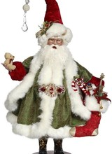 "Mark Roberts Santa Filling Stockings 26"""