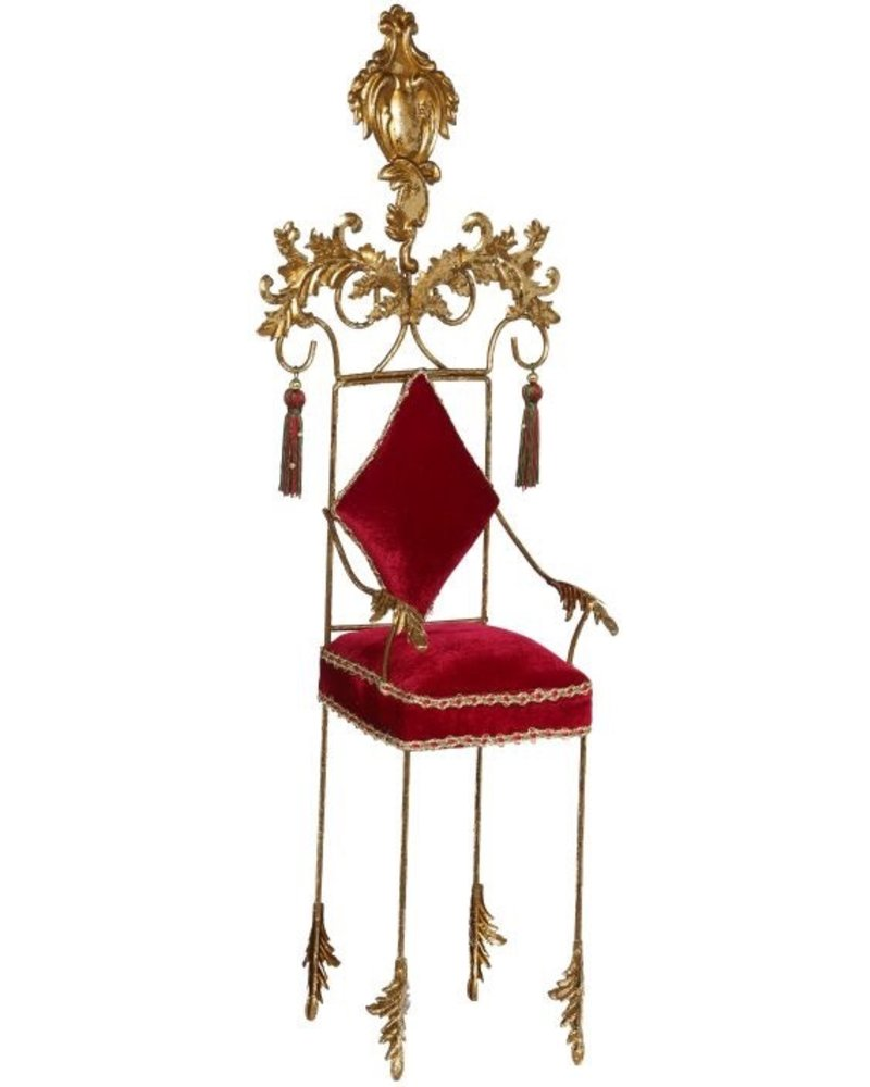 Mark Roberts Red Chair - 26 Inches