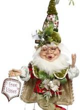 "Mark Roberts Mistletoe Mchief Elf Small 10"""