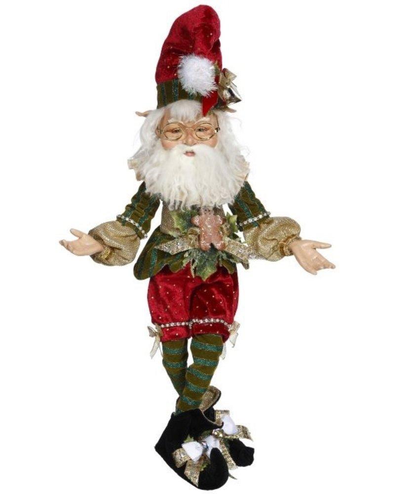 "Mark Roberts Northpole Jester Elf Medium 17"""