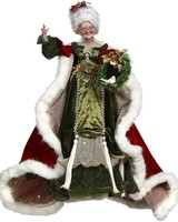 Mark Roberts Bejeweled Mrs Claus 24""