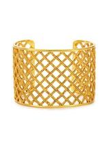 Julie Vos Loire Cuff Gold
