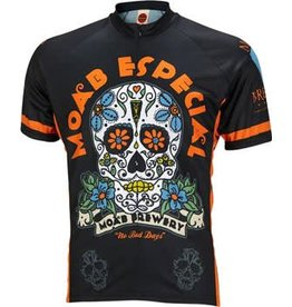 World Jerseys World Jerseys Moab Brewery Especial Men's Cycling Jersey: Black, 2XL