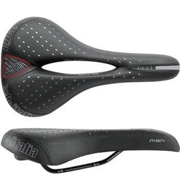 Selle Italia Selle Italia Man Gel Flow Saddle: Black L2