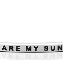 MantraBand MantraBand, You Are My Sunshine, Silver