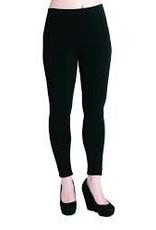 Bamboo Leggings, Full Length, Black