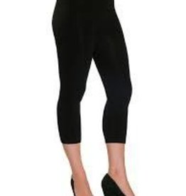 Bamboo Leggings, 3/4 Length Black