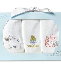 Baby Bibs, 3-Pack Gift Set