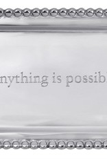 """Mariposa """"Anything Is Possible"""" Tray"""
