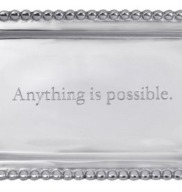 "Mariposa ""Anything Is Possible"" Tray"