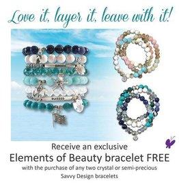 Savvy Design Jewelry Elements of Beauty Bracelet Promo