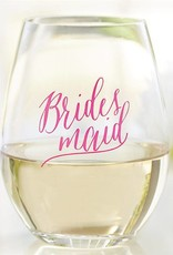 Mud Pie Bridesmaid Wine Glass