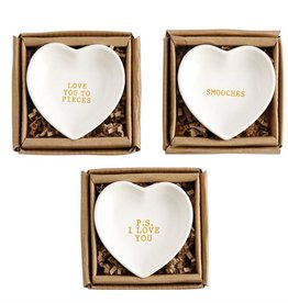Mud Pie Heart Trinket Dish
