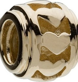 Gold Hearts Bead 50% OFF