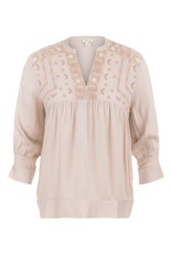 Tribal/Tribu Intl Blouse with Embroidered Detail