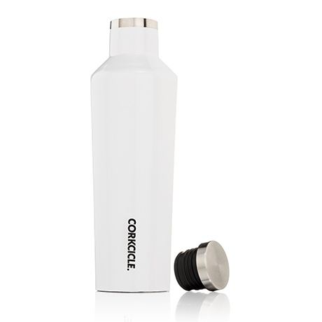 Canteen, Gloss White, 25oz