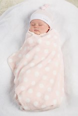 Mud Pie Blanket/Hat Set, Sweet Baby, Pink, 0-3 Months
