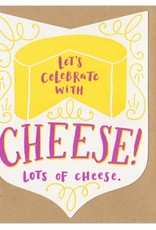 Frog & Toad Press Let's Celebrate with Cheese... Greeting Card