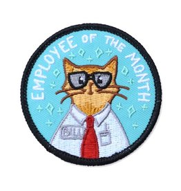 Frog & Toad Press Employee of the Month Patch