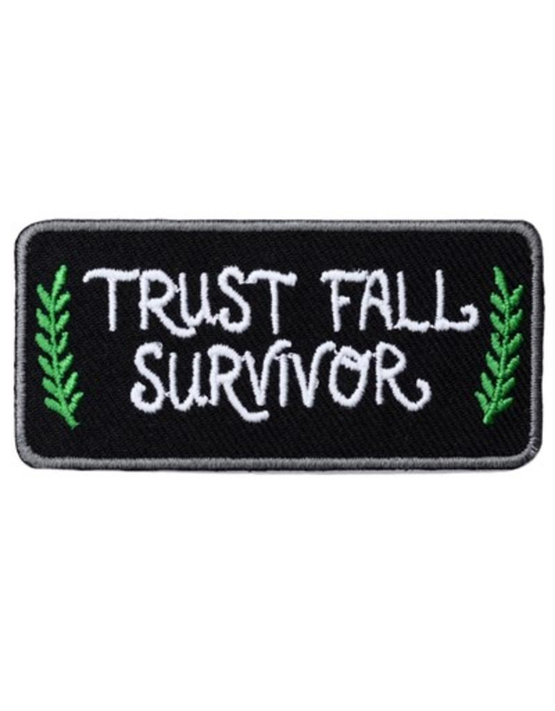 Frog & Toad Press Trust Fall Survivor Patch