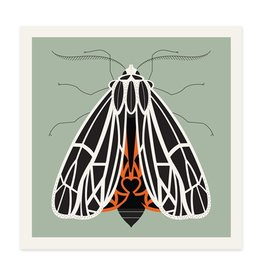 Methane Studios Tiger Moth Print