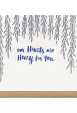 Frog & Toad Press Our Hearts Are Heavy For You Greeting Card